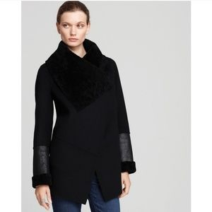 Mackage Double Faced Shearling Jacket